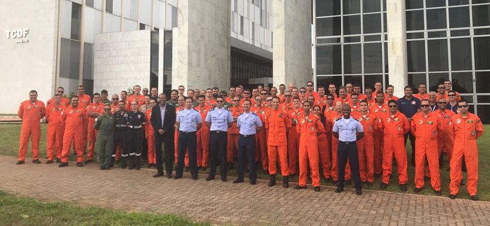 SERIPA VI realiza treinamento de Gerenciamento dos Recursos Corporativos (CRM - Corporate Resource Management), para o Corpo de Bombeiros do Distrito Federal.