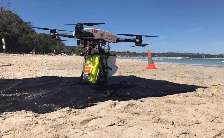 Os Drones utilizados para salvar pessoas e prevenir ataques de tubarões na Austrália
