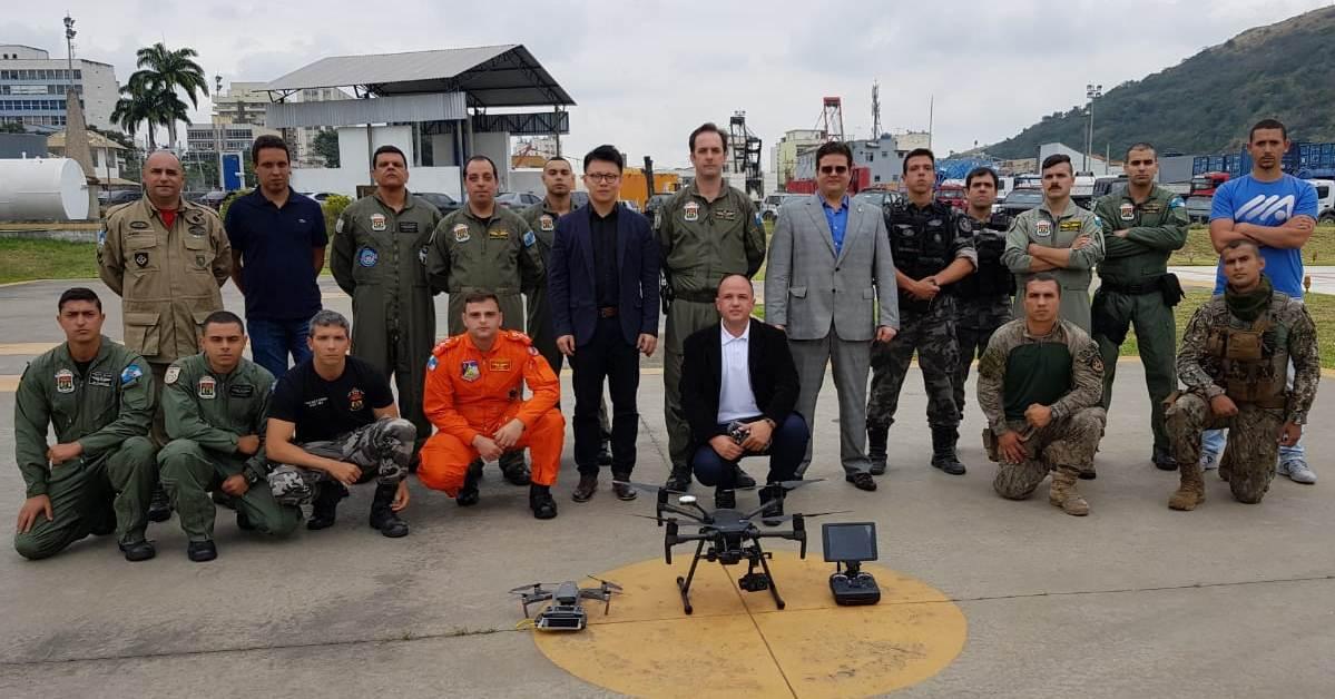 """DJI, líder mundial em drones e sistemas faz """"roadshow"""" pelos Estados brasileiros - Rio de Janeiro"""
